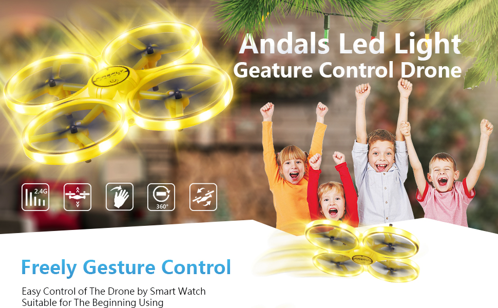 gesture control drone