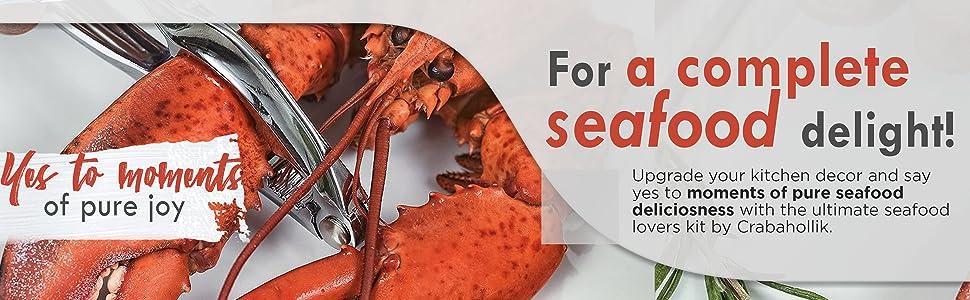 seafood tool, crab seafood tools, seafood tool kit, bundle, sea food pack, splitter, walnut cracker