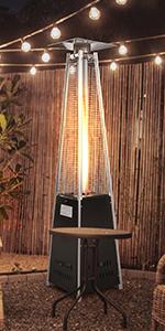 Pyramid Heater Iron Coated