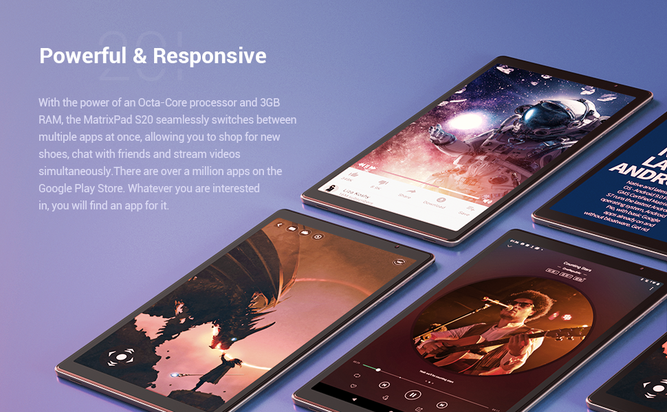 responsive tablet