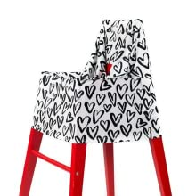 high chair cover restaurant shopping cart highchair safety infant covers travel washable toddler