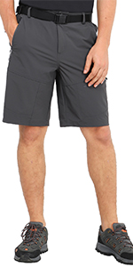34stretch hiking shorts for men quick dry
