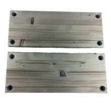 Pine Wood Plate
