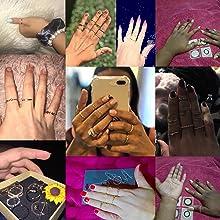 finger rings for girls