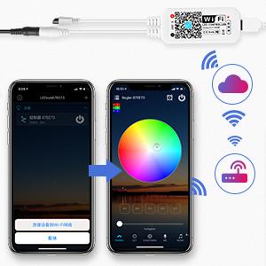 smart app strip lamp
