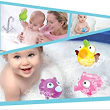 fish bath toys, fish chu chu toys, toys, FunBlast Chu Chu Colourful Fish Toy
