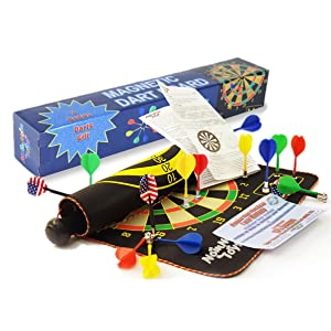 Color Box, 15 safe darts, 5 players Coordination Skills, Gift toys for 8-12 years old