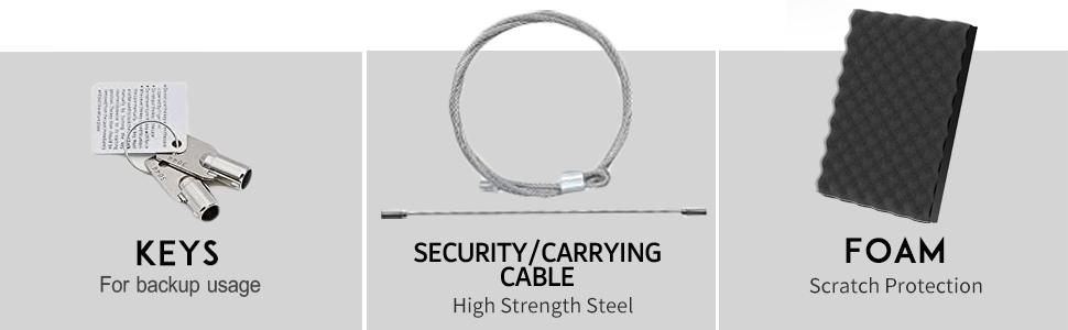 JEMPET Digital Code Gun Safety Vault for Home