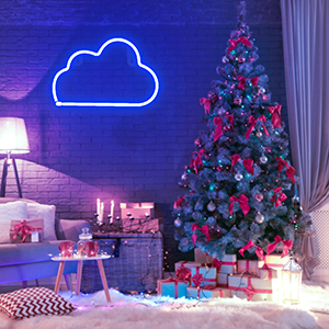 led neon cloud lights,room decor,neon light for home decor,led lights,led neon sign,cloud neon light