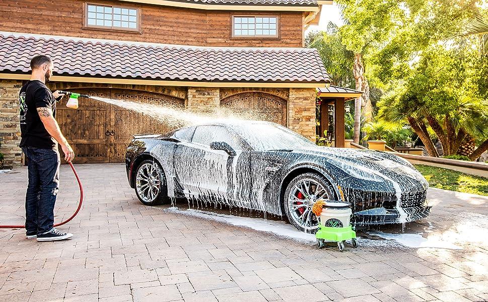 garden hose foam gun ultra suds ph neutral car shampoo foaming car wash