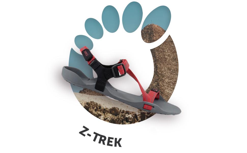 z-trek sandal for women chakas rainbow hiking flip flops for girls