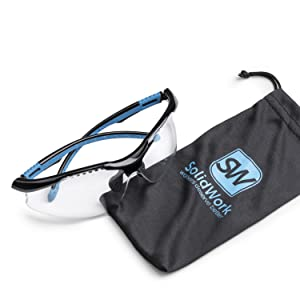 safety glasses solid blue ansi certificated protective gear protection eye goggles working