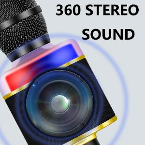 lound sound karaoke microphone