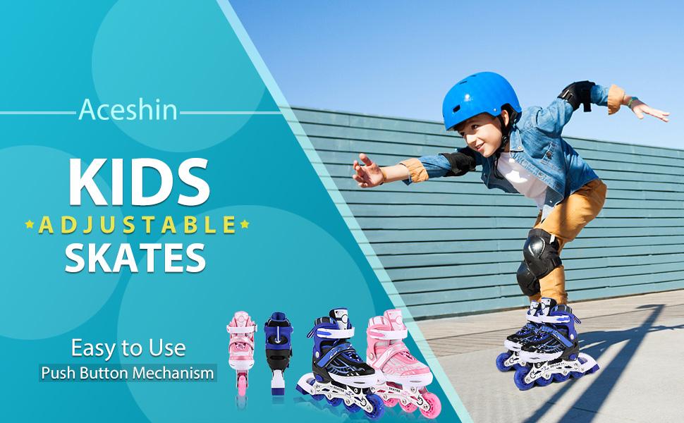 Aceshin kids inline skates