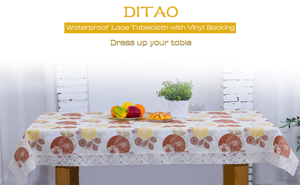 New year tablecloth