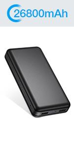 IEsafy 26800mAh Portable Power Bank