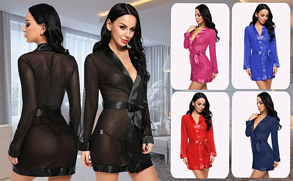 babydolls sexy lingerie for women sexy sheer robe for women hot baby doll lingerie