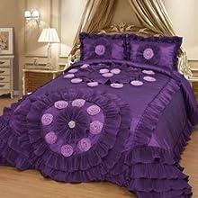 wedding set in purple