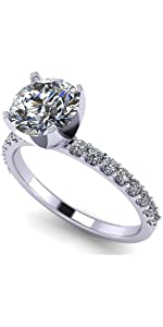 Engagement ring Lucita style