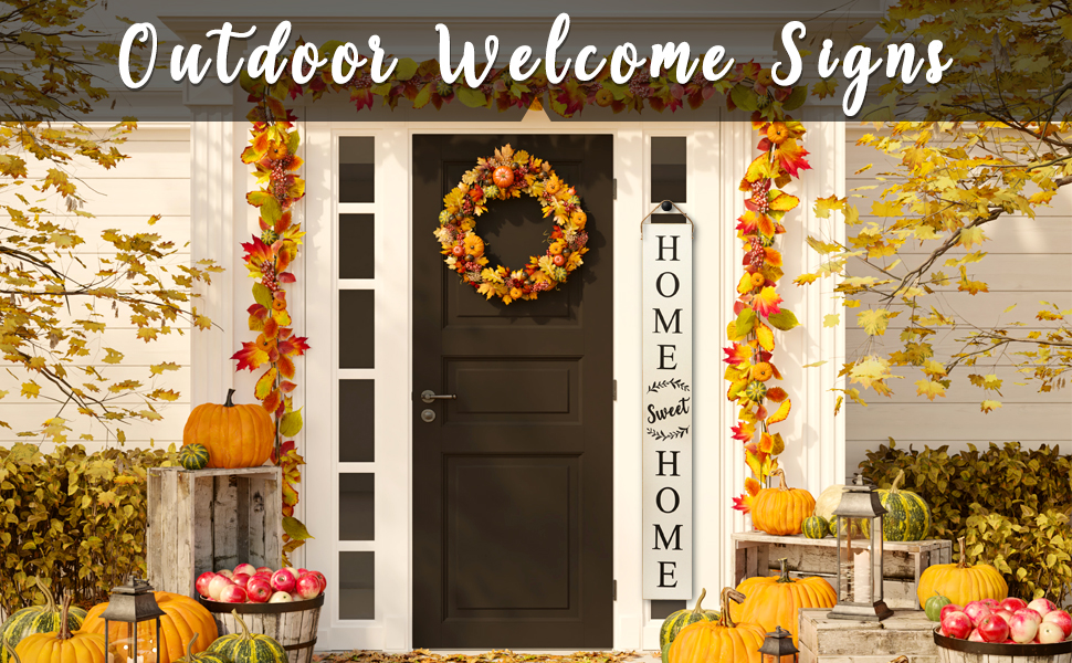 welcome signs for front porch welcome sign for front door outdoor welcome signs for porch vertical