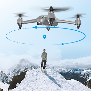 Point of Interest  Potensic D80 GPS Drone with Camera for Adults, 2K FHD Camera, 2 Batteries 40 Mins Quadcopter with Brushless Motor, Auto Return Home, Follow Me, Long Control Range, Includes A Carrying Case-Sliver d0579ab3 22d9 40b3 a16c 601f4e77ec6d