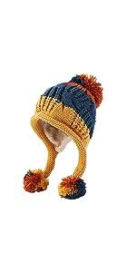 Women Winter Peruvian Beanie Hat Skull Cap