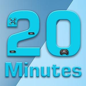 20mins flight time