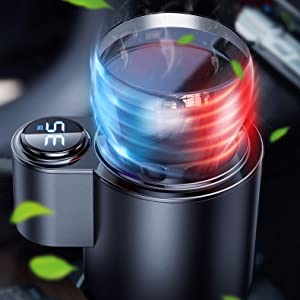 Warmer and Cooler Smart 2-in-1 Car Cup