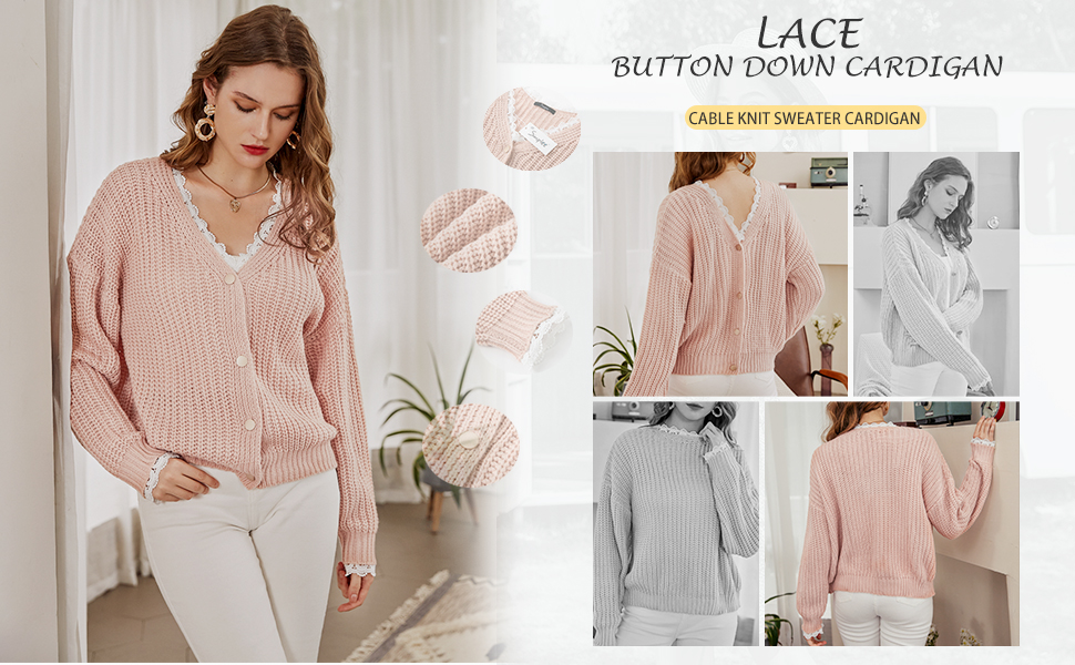 cozy ivory button up cardigan single button loose fit sweater
