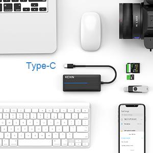 Concentrador USB C 3.0