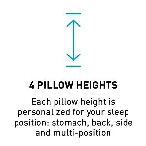 pillow heights