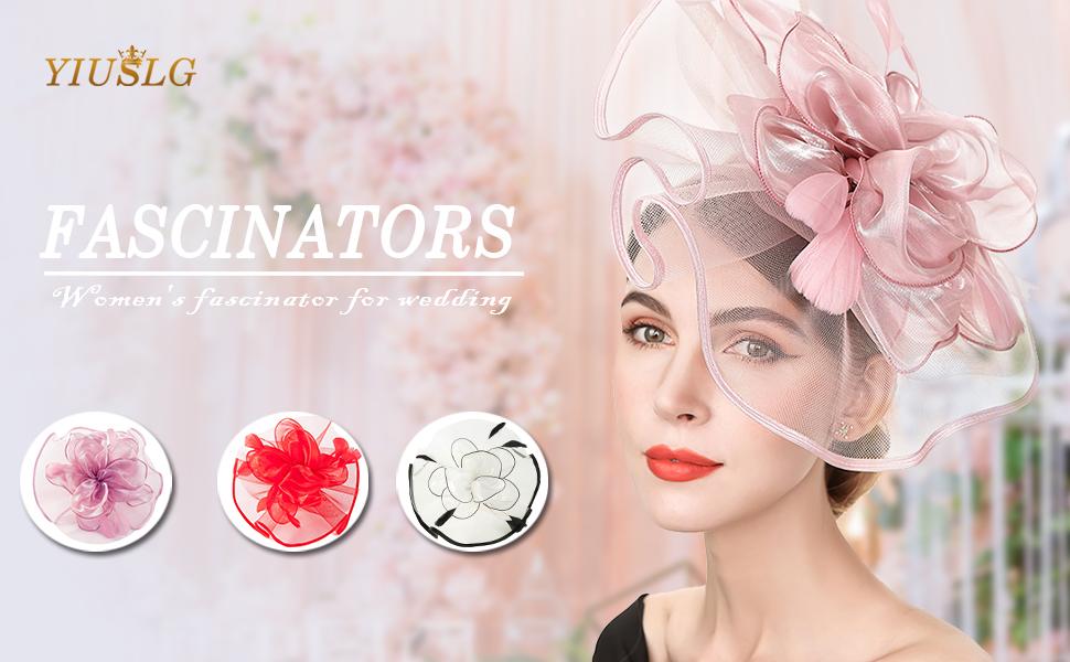 black fascinator hats for women