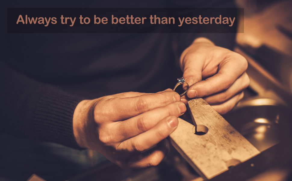 Always try to be better