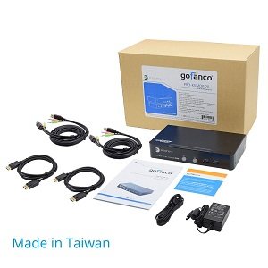 package contents usb cables kvm switcher computers system macbook windows hp dell audio mic port