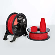 abs roll contains a 1 kg spool at 1.75 mm filament diameter and dimensional accuracy of +/- 0.03 mm