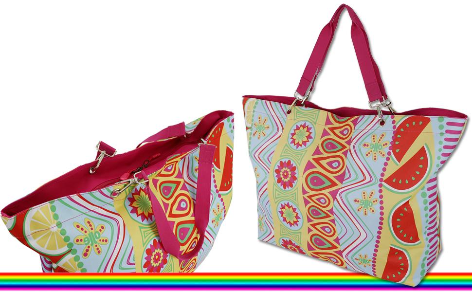 Strandtasche Badetasche Saunatasche Einkaufstasche XXL Tasche Shopper
