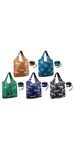 Large shopper bag heavy duty grocery tote reusable foldable shopping totes for groceries