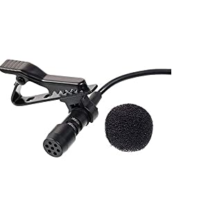 collar mic for youtube tik tok recording mobile smartphone