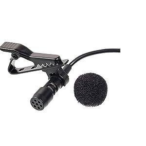 collar mic for youtube tik tok recording mobile smartphone