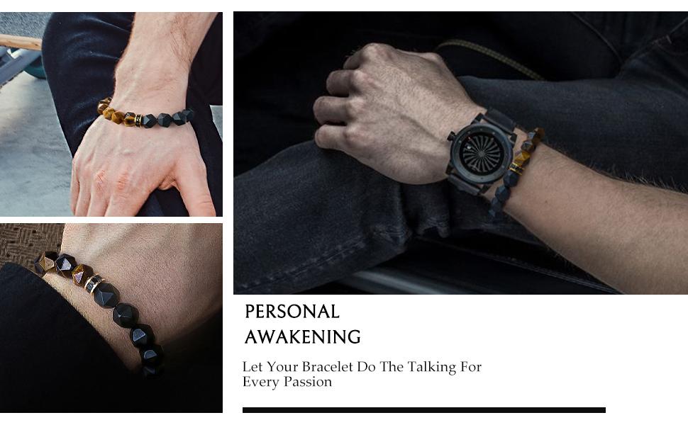 tiger eye bracelet for men
