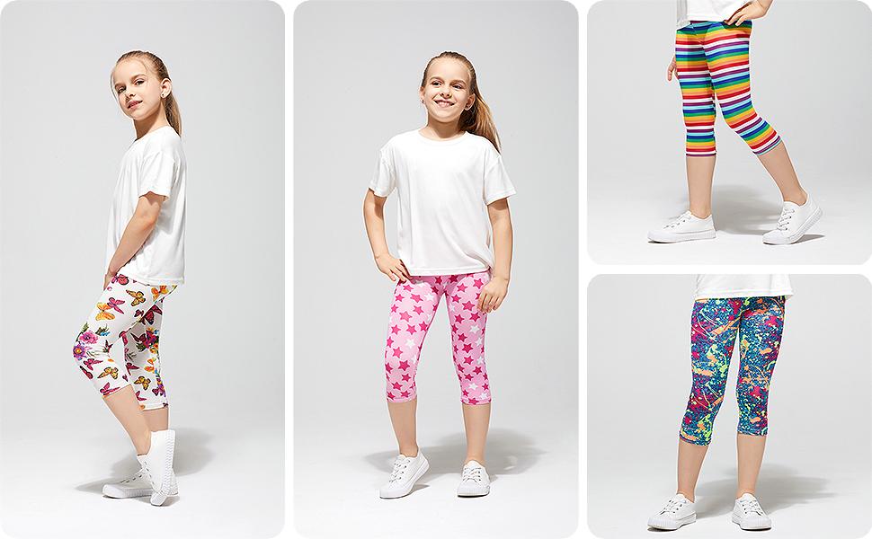 4 chicas en pantalón cómodos muestran muchas formas de combinar.