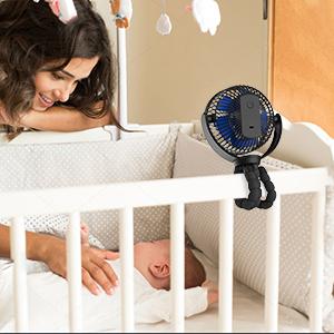 clip fan for crib