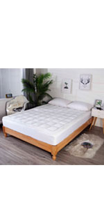 Reversible Mattress Pad Cover topper
