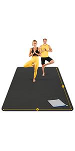 extra large yoga mat