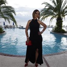 Evening Cocktail Long Dress