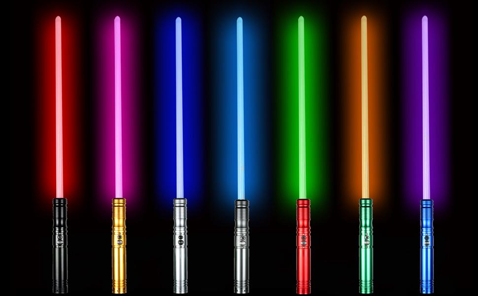 Force Saber Fx Force fx Metal Handle Heavy Dueling Hot Star Wars RGB Lightsaber 12 Color Foc