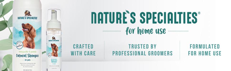 nature's specialties consumer dog shampoo 2 in 1