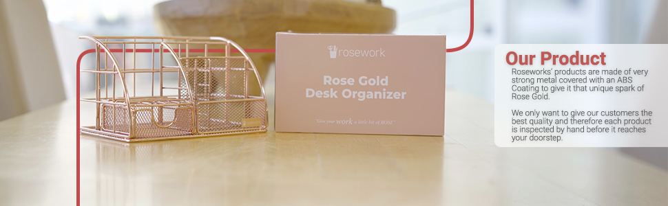 rose gold desk accessories for women office desk tray paper tray desk organizer desk letter trays