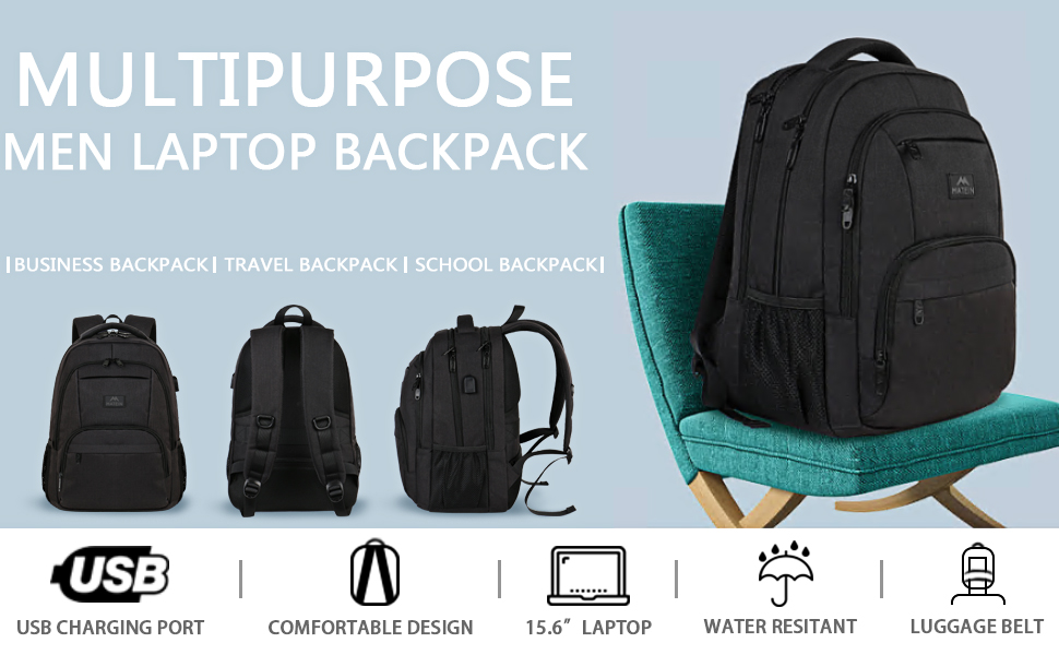 Matein Laptop backpack-A Best Choice for Your Campus Life