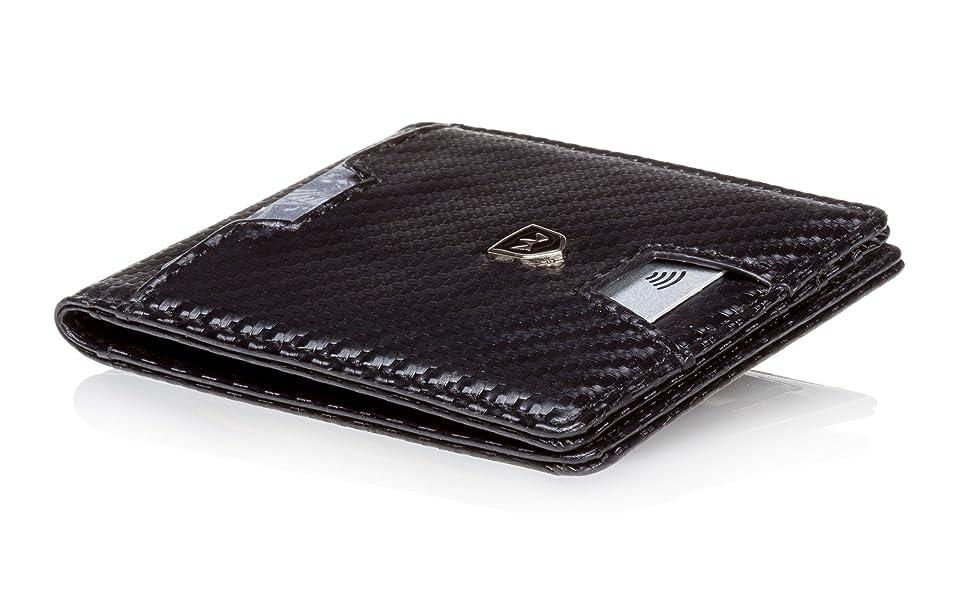 Kartenbörse Herren Männer-Brieftasche Männer-Geldtasche Smart Wallet Slim Wallet karten-portmonee